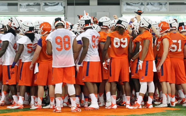 Clemson Tigers Fall Camp