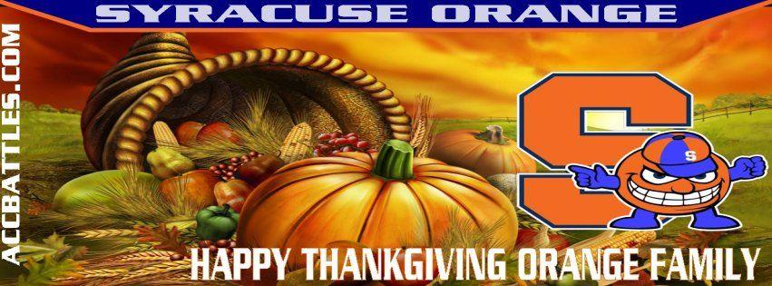 Happy Thanksgiving Orange Family
