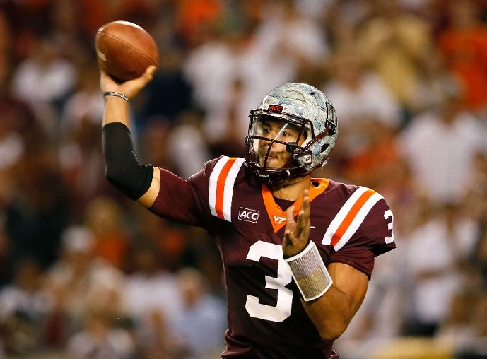 Logan Thomas Goes HAM in Atlanta: http://accbattles.com/football/virginia-tech/logan-thomas-flexes-as-the-hokies-win-17-10
