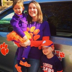 True #ClemsonFamily