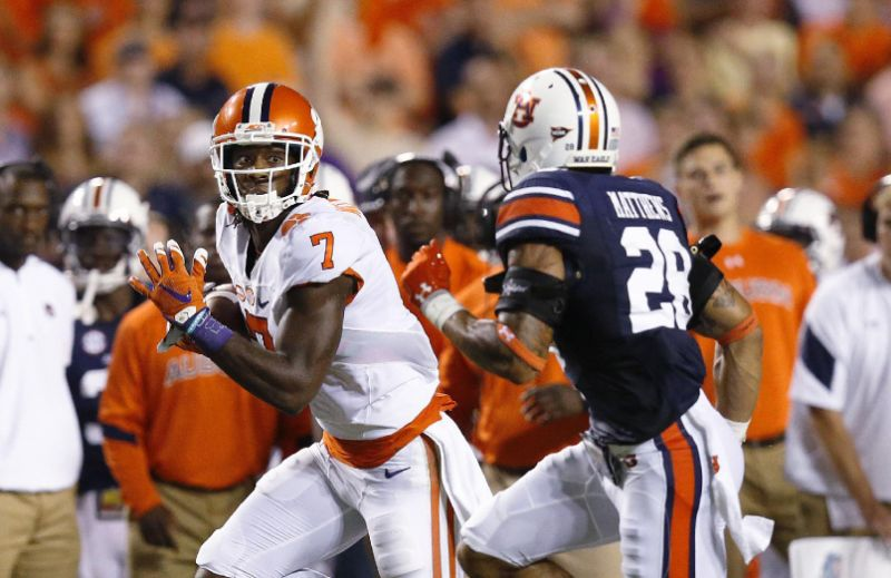 mike williams destroys auburn