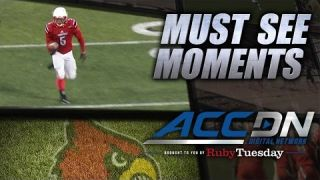 Louisville's Michael Dyer Seals Game With 46-Yard TD Run | ACC Must See Moment