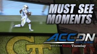 GT's DeAndre Smelter Takes Trick Play 75 Yards For A Touchdown | ACC Must See Moment
