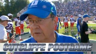 Duke Head Coach David Cutcliffe on Big Division Win Over Virginia