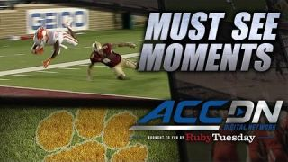 Clemson's C.J. Davidson Breaks Off 32-Yard TD Run | ACC Must See Moment