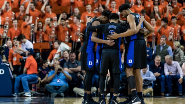 No. 2 Duke Travels to No. 16 Louisville Tuesday Night
