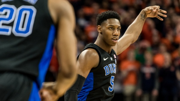 Barrett Leads No. 2 Duke Past No. 3 Virginia, 81-71