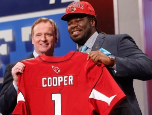 Johnathan Cooper at the 2013 NFL Draft