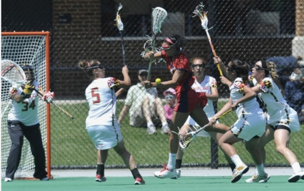 A heavy focus on defense helped Maryland hold the Seawolves to just 3 goals in the second round of the NCAA Tournament.