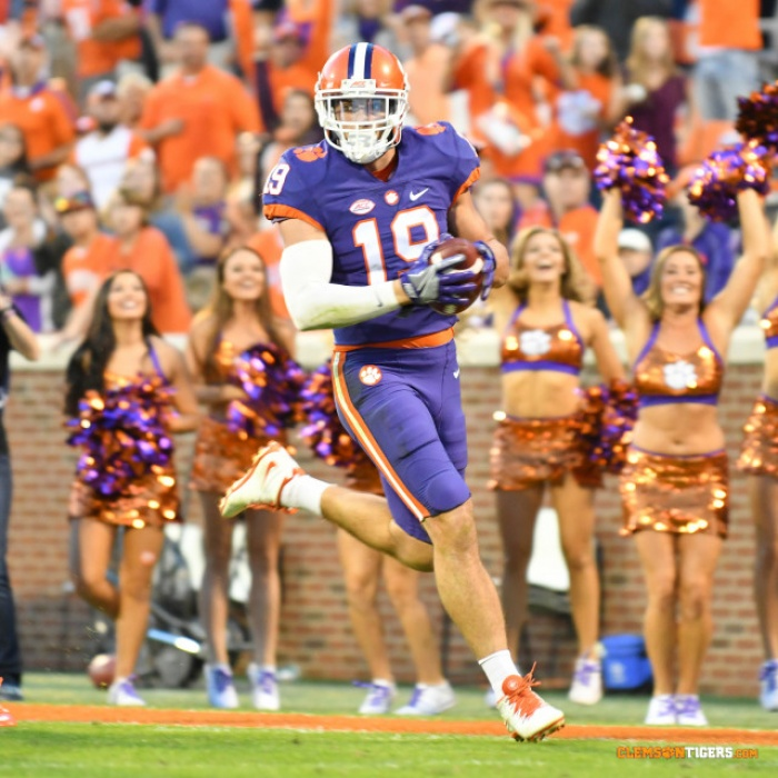 Clemson Remains No. 2 in College Football Playoff Poll