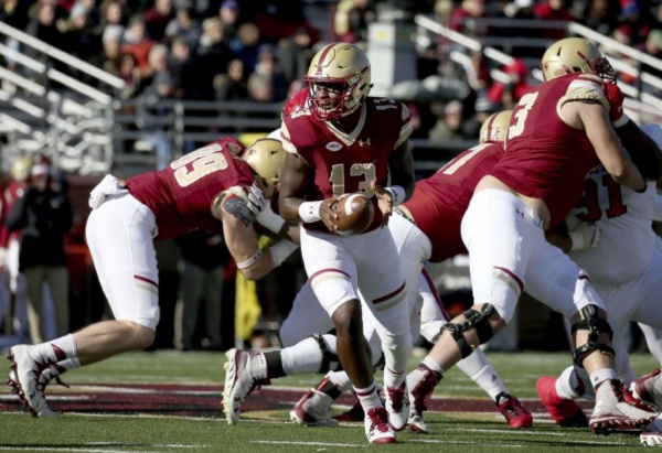 Boston College Eagles Lose Close Game to NC State 17-14