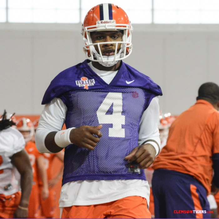 Clemson Holds First Practice in Full Pads