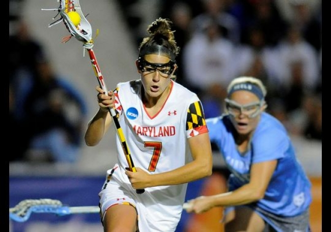 Katie Schwarzmann scored 58 goals and assisted on 27 more during her senior season, including 3 goals in the national championship.