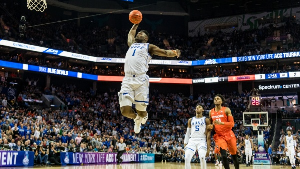 Williamson Scores 29, No. 5 Duke Rolls in ACCs
