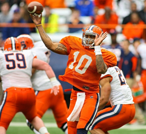 SU Quarterback Terrel Hunt