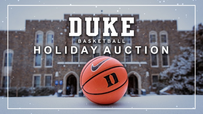 GoDuke.com Launches 2018 Basketball Holiday Auction