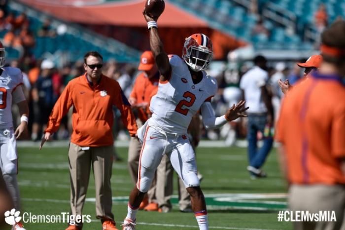 Orange Defeats White in Clemson Spring Game