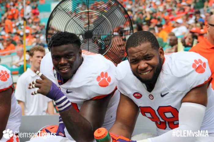 Three Clemson Defenders Selected in Second Round