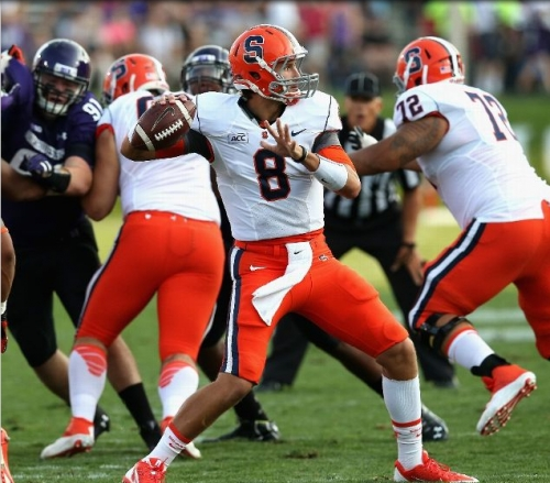 Cuse Get Blitzed At Northwestern