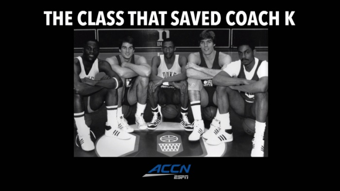 """The Class That Saved Coach K"" Airs Thursday on ACCN"