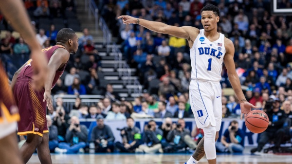 Duke Routs Iona 89-67, Breezes into Second Round