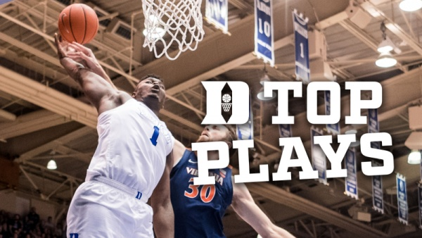 Top 10 Men's Basketball Plays from 2018-19