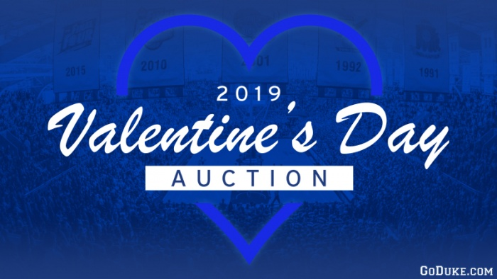 GoDuke.com Continues 2019 Valentine's Day Auction