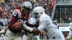 Virginia Tech falls to Maryland on Senior Day