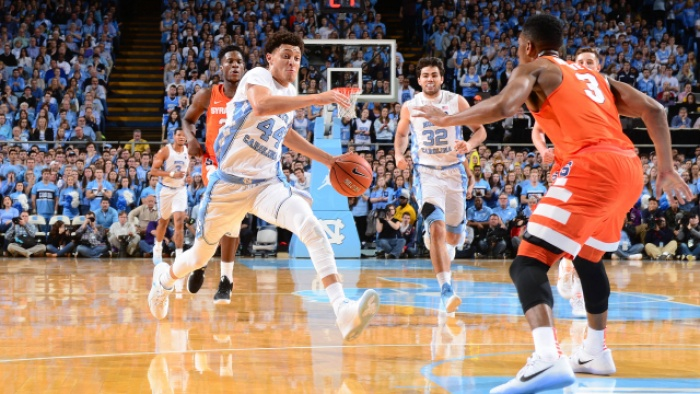 Tar Heels Down Syracuse For Williams' 800th Win, 85-68