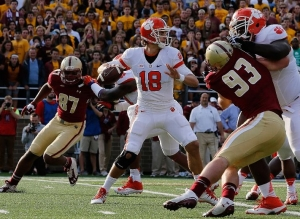 Cole Stoudt Leads Clemson 17 - 13 Over Boston College