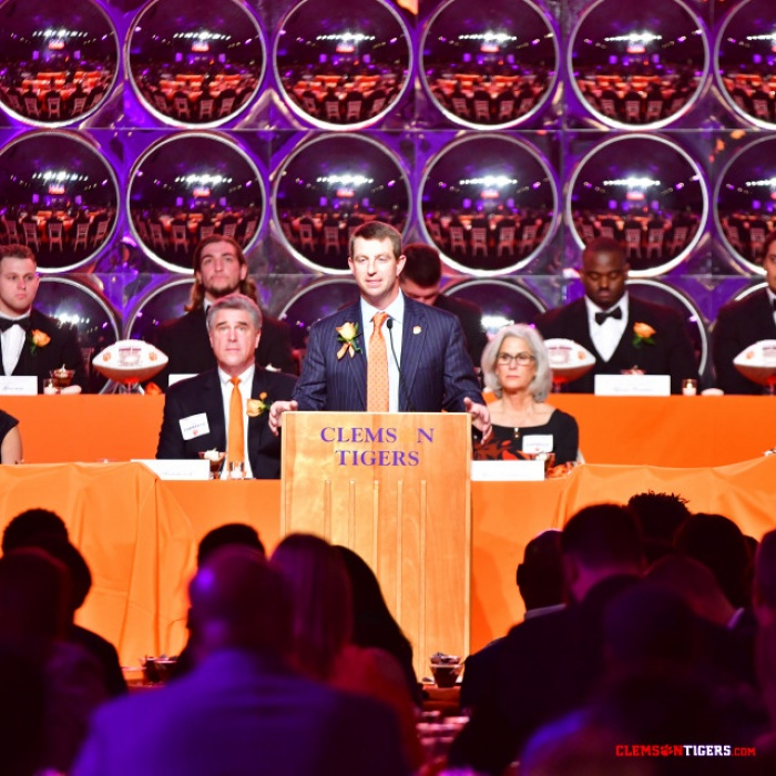 Clemson Holds Awards Banquet