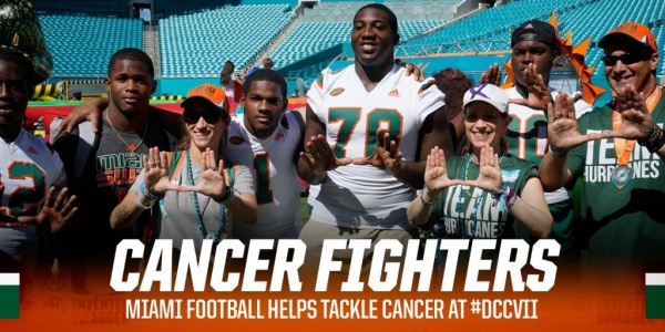 Canes Help Fight Cancer at #DCCVII