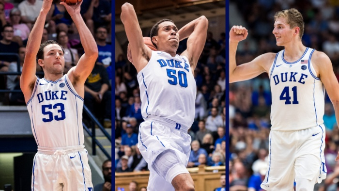 Besser, Robinson, White Named to NABC Honors Court
