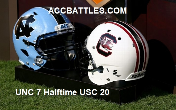 TarHeels Down But Not Out at The Half