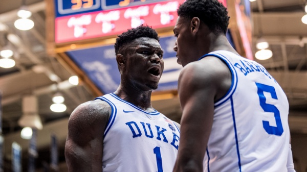 Williamson, Barrett Lead No. 3 Duke Past Indiana