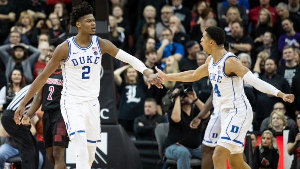 No. 2 Duke Rallies Late, Beats No. 16 Louisville