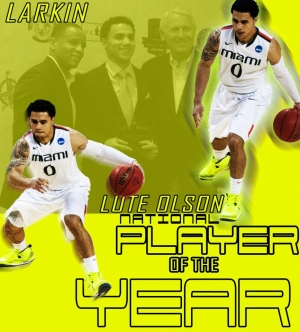 Miami's Shane Larkin Player of the Year
