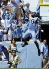 Tar Heels Roll To Victory 40-20