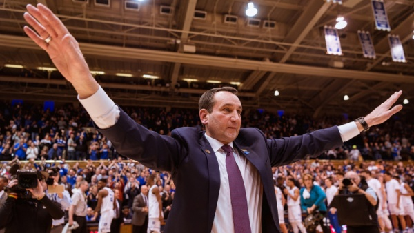 Mike Krzyzewski to Host His SiriusXM Show October 19