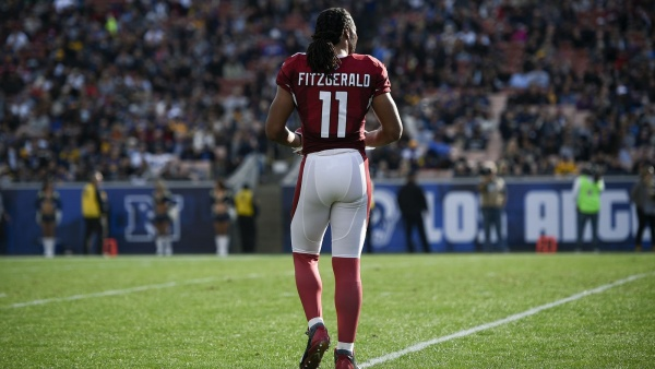 Larry Fitzgerald has chance to move up NFL career receiving yardage rankings in 2017