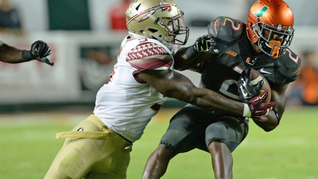 Florida State Beats Miami 30 - 26