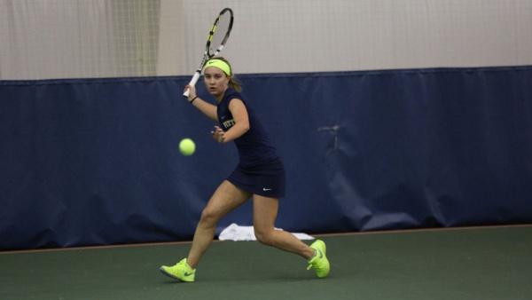 Pitt Tennis Knocked out of ACC Tournament with 4-0 Loss to Notre Dame
