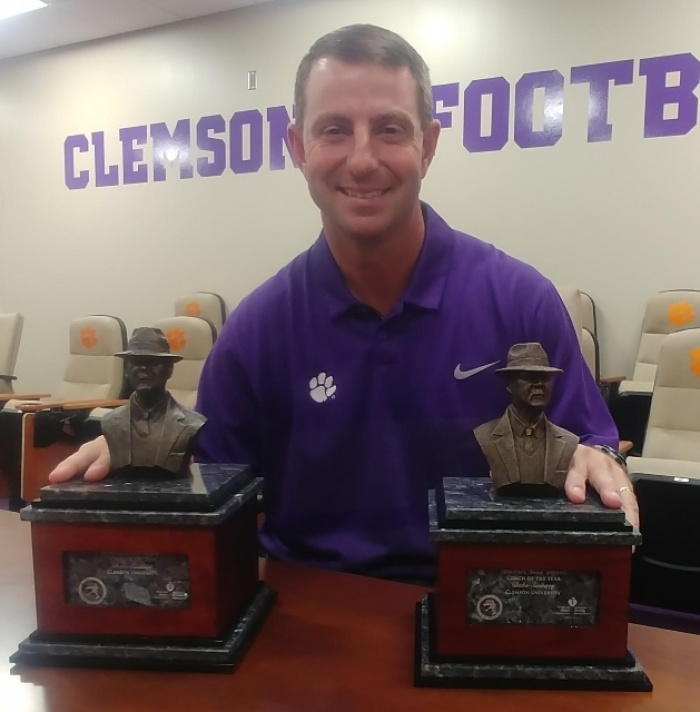 Swinney Induction into Alabama Sports Hall of Fame on Saturday