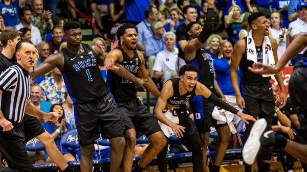 No. 1 Duke Battles No. 8 Auburn in Maui Semifinals