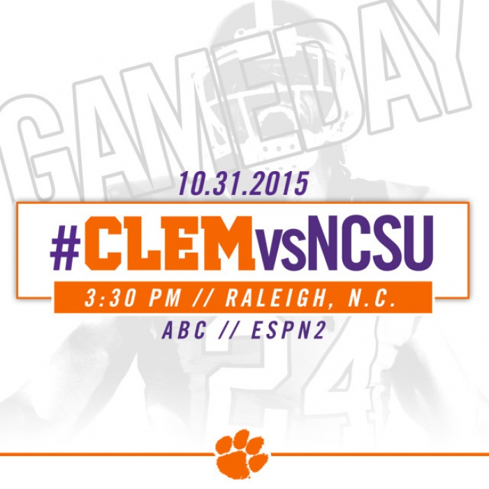 #CLEMvsNCSU Gameday Guide