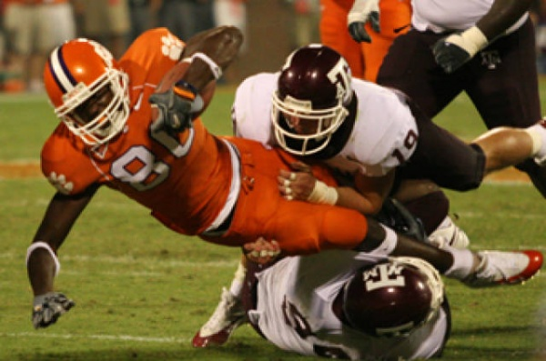 Clemson vs. Texas A&M at 7 p.m. on September 8, 2018