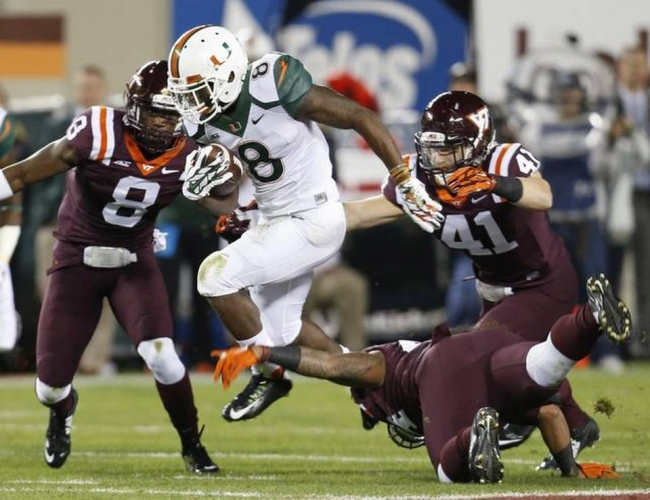 Canes Blow Out The Hokies