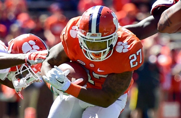 Former Clemson Running Back C.J. Fuller Dead at 22