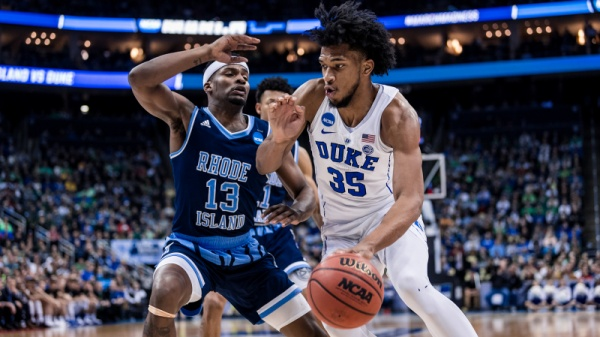 Duke Beats Rhode Island 87-62, Advances to Sweet 16