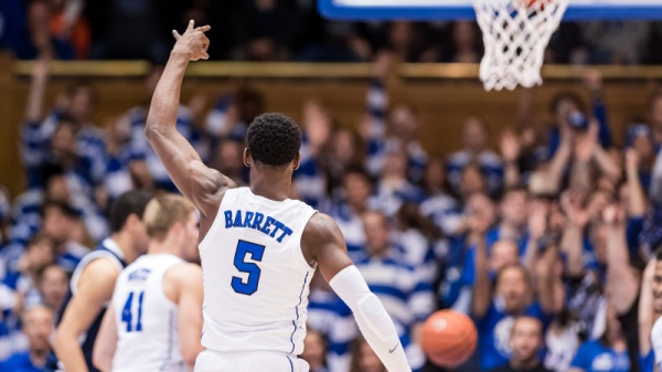 No. 3 Duke Wins 4th Straight, Beats Yale 91-58